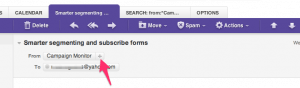 Add AYS to Yahoo Mail