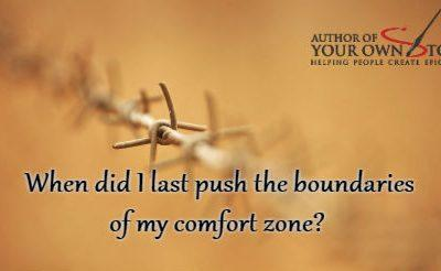 Question of the week – My Comfort Zone