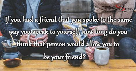 Question of the week - How Long Do You Think You Could Be Friends?