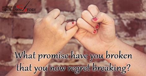 Question of the week - Broken Promise