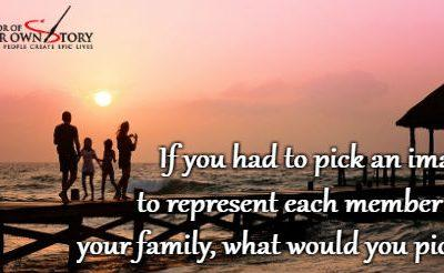 Question of the week – Image To Represent Each Member of Your Family