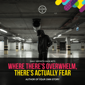 Where There's Overwhelm, There's Actually Fear