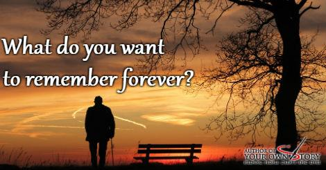 Question of the week - You Want To Remember Forever