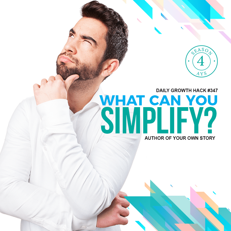 What Can You Simplify?