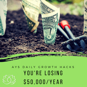 [SOUL] You're Losing $50,000 A Year