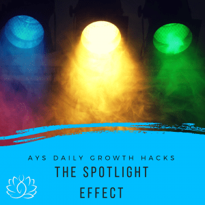 [SOUL] The Spotlight Effect